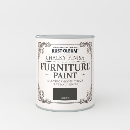 Rustoleum Chalky Finish Furniture Paint Graphite Matt -