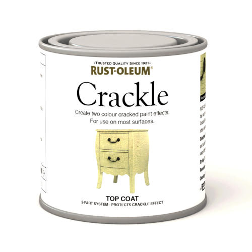 Rustoleum Crackle Top Coat (Paint) 250ml