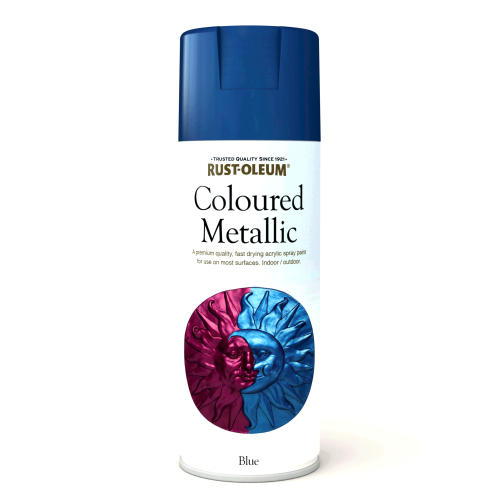Rustoleum Coloured Metalic Blue (Spray) 400ml